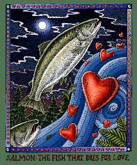 SALMON the fish that DIEs FOR LOVE
